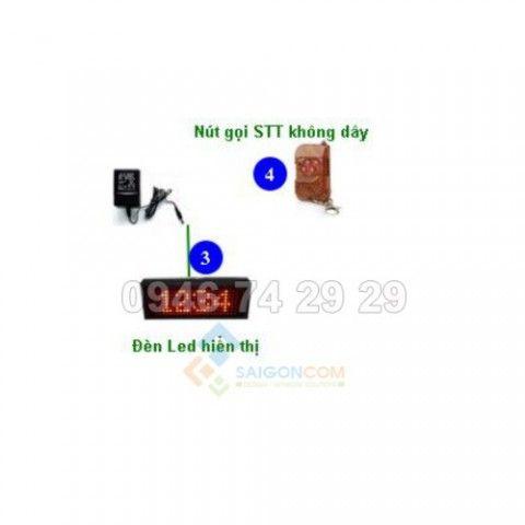 Bảng led điện tử + Remote điều khiển không dây