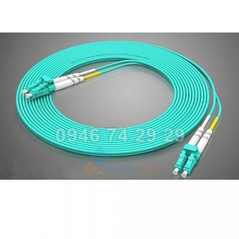 Dây nhảy quang LC/LC Multi-mode OM4 2 fiber  10Gb chiều dài dây 10m