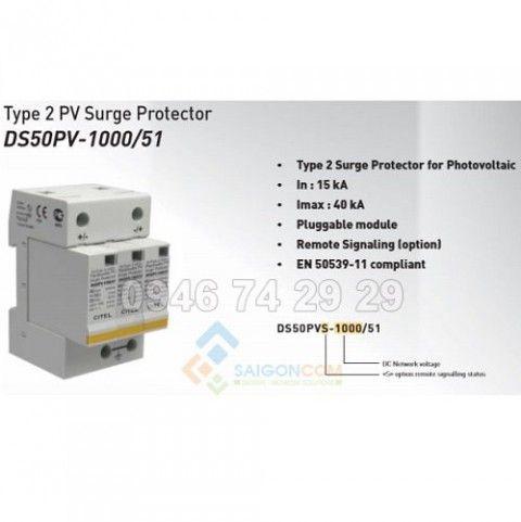 Thiết bị chống sét dòng DC 1000V -DS50PV1000G/12KT 1