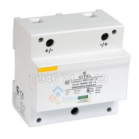 Thiết bị chống sét dòng DC 1000V -DS60VGPV1000G/51