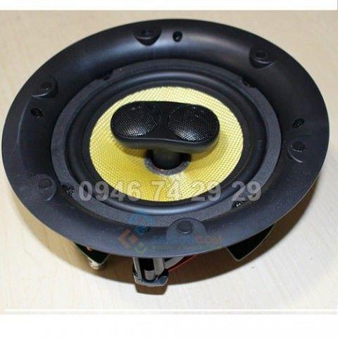 Loa âm trần  6,5 in Công suất âm thanh 80W tần số âm từ 45Hz đến 20Hz, 2WAY, 8Ω 90dB