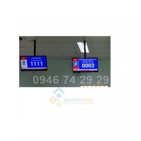 Màn hình LCD 18in  hiện STT quầy