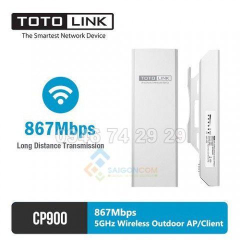 Thiết bị wifi không dây ngoài trời totolink, băng tần 5GHz