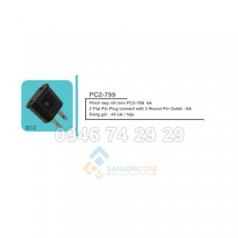 Phích cắm chuyền PC2-799- 6A