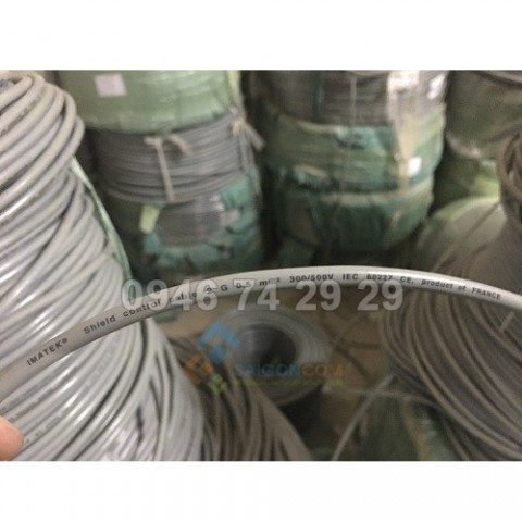 Dây IMATEK  Shield control cable  2G 0.5 mm2  300/500V PVC  IEC 60227