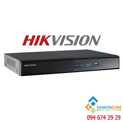 Đầu ghi Hikvision DS-7204HQHI-K1/P Turbo HD4.0 4 kênh (vỏ sắt) H.265+ | PoC