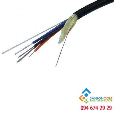 Cáp quang VINACAP 4FO  Single mode  dây tròn luồn cống