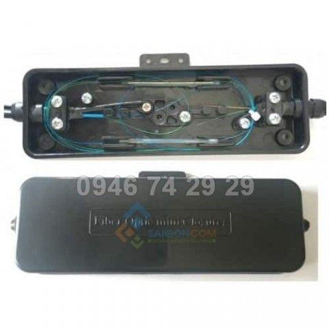 Măng xông quang 4FO mini - 1 vào, 1 ra- dùng ngoài trời