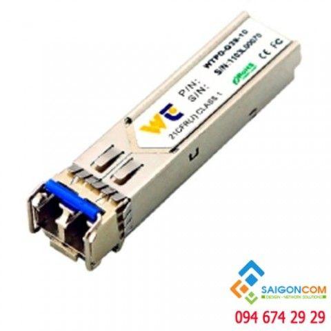 Module quang SFP 2 sợi 1.25GB bước sóng 1310nm, khoảng cách 20km WTPD - G39-20-D