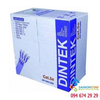dây cáp mạng DINTEK Cat5e FTP -Bọc nhôm chống nhiễu