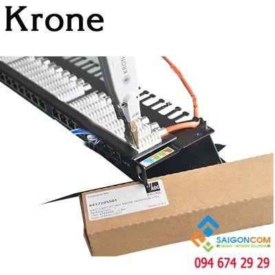 Patch Panel Krone 24 Port Cat5e, Có đèn hiển thị | PN: 66531587-24