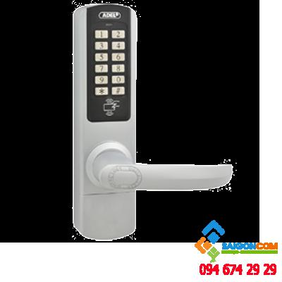 Khóa vân tay ADEL 5600 thiết lập 31 mật mã và 62 thẻ
