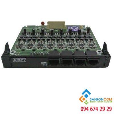 Card mở rộng 16 port máy nhánh analog tích hợp sẵn hiển thị số gọi đến cho Tổng đài iP Panasonic KX-NS300