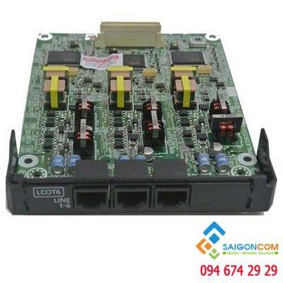 Card mở rộng trung kế analog cho tổng đài Panasonic KX-NS300