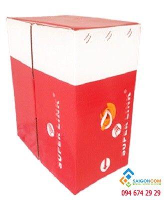 Cáp mạng Super Link CAT 5E UTP CCA
