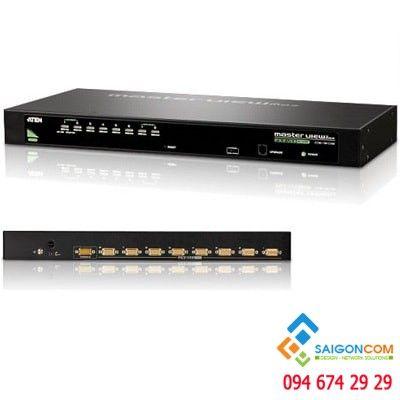 Bổ chuyển đổi KVM ATEN CS1308-AT-E - từ 8 NVR ra 1 màn hình