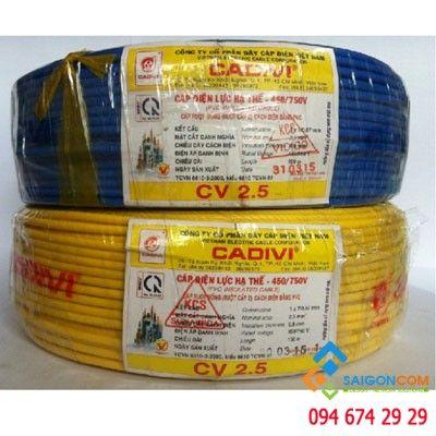 Dây cáp điện CADIVI 3.0