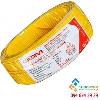 Dây cáp điện 2 ruột CVV 2x1.5mm