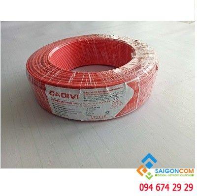 Dây cáp điện đôi CADIVI 2x0.75 - 0.6/1KV