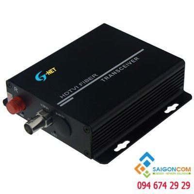 Thiết bị chuyển đổi quang 1 kênh Sử dụng cho Camera : AHD CVI TVI - 1080P 2M-3M và dòng analog