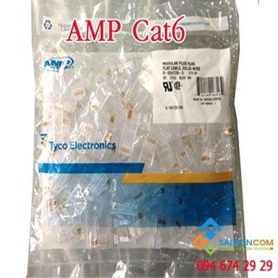 Hạt mạng Cat 6 - AMP , Chính hãng USA
