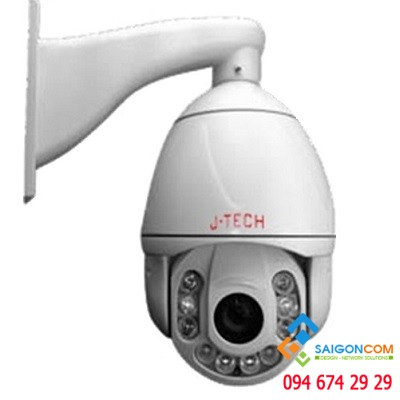Camera IP hồng ngoại Speed Dome Zoom 18x J-TECH JT-HD7120