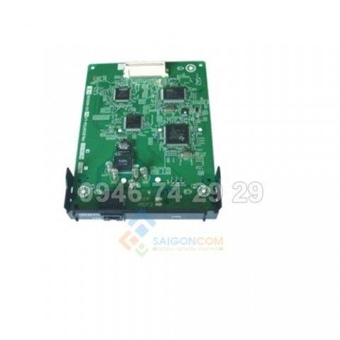 Card trung kế số PRI30/E1 : Hỗ trợ 2 lại báo hiệu E1 và ISDN  cùng lúc 30 kênh thoại dành cho tổng đài Panasonic KX-NS300