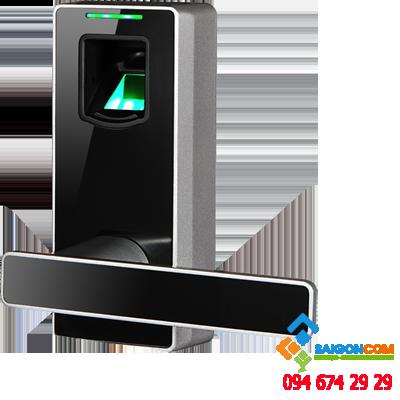 Khóa vân tay ML10DB thiết lập 90 vân tay, chìa khóa và điện thoại