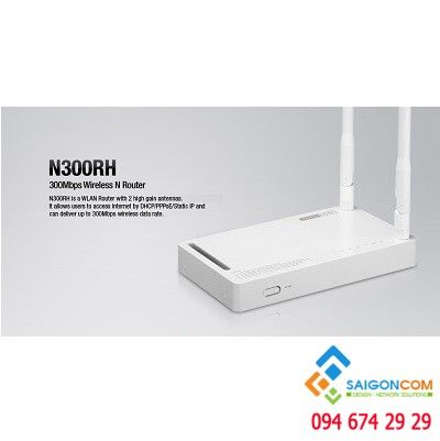 Router Totolink N300RH