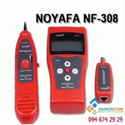 Máy Test mạng - cáp điện thoại- cáp đồng trục NF-308, Đo được số mét cáp