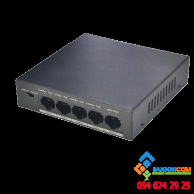 SWITCH PoE DAHUA 4 port  4P-58