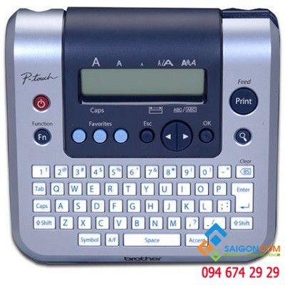 Máy in nhãn PT-1280VN, khổ in 6 – 12mm