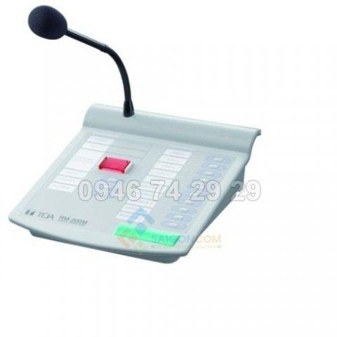 Micro chọn 10 vùng RM-200M S - TOA