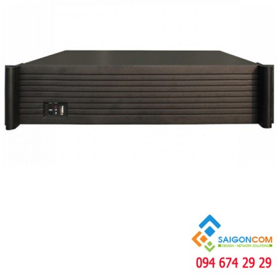 Đầu ghi IP 25 kênh Chuẩn HD, hỗ trợ 4 ổ cứng 3T