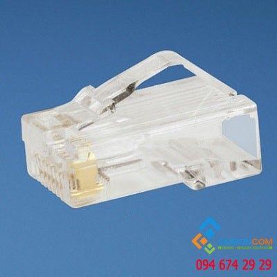Đầu bấm mạng -  Modular Plug Cat5e UTP  100 Pack
