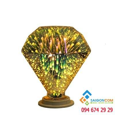 Đèn led edison 3D kim cương nhỏ