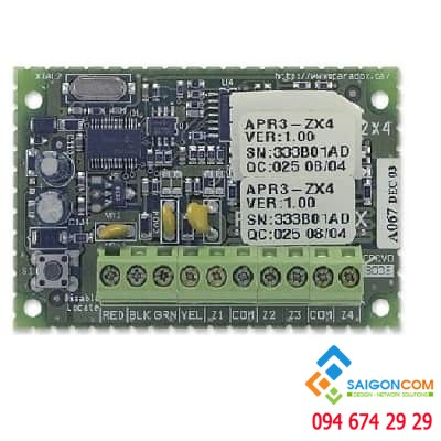 Thẻ mở rộng 4 vùng ,tương thích  EVO192 ,Sp 4000 ,Sp5500,Sp6000