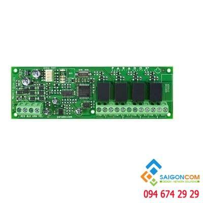 Thẻ điều khiển 4 rơle (điều khiển khoá điện + đèn v…v…)