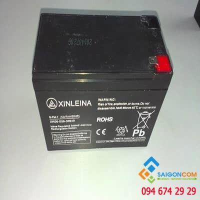 Bình điện 12V-5A