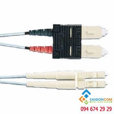 Fiber patchcord OM4 2-fiber (OFNR) Std. IL - 5m