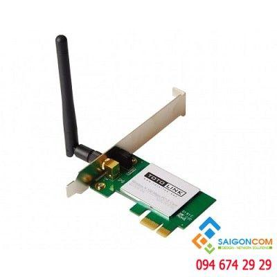 Card mạng không dây  PCI- E chuẩn N tốc độ 150Mbps