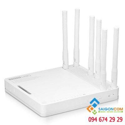 Router wifi băng tần kép chuẩn AC1900