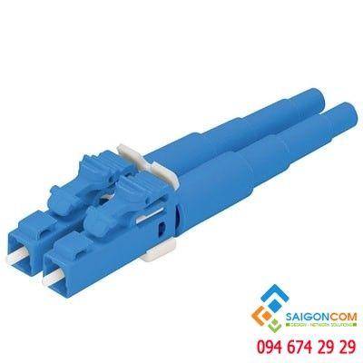 Fiber connector & adapter LC 9/125μm  duplex  OS1/OS2