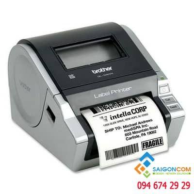 Máy in nhãn giấy decal QL-1060N, khổ in max 102mm