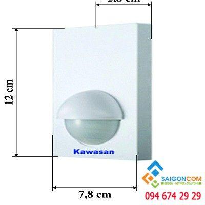 CẢM ỨNG HỒNG NGOẠI ÂM TƯỜNG KW-SS202(2PIR)