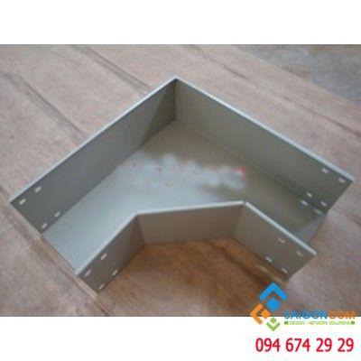Co đứng 90 độ  W200xH150 thép CT3 dày 1.2mm, Sơn tĩnh điện