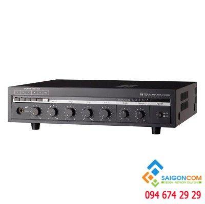 Mixer Amplifier 360W kèm bộ chọn 6 vùng loa