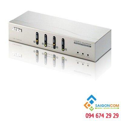 Bổ chuyển đổi 2x4 VGA/Audio Matrix Switch - từ 1 Máy tính  ra 4 màn hình