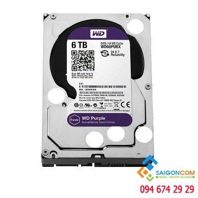 Ổ cứng HDD 8TB WD Purple WD Chính hạng chuyên dụng Camera