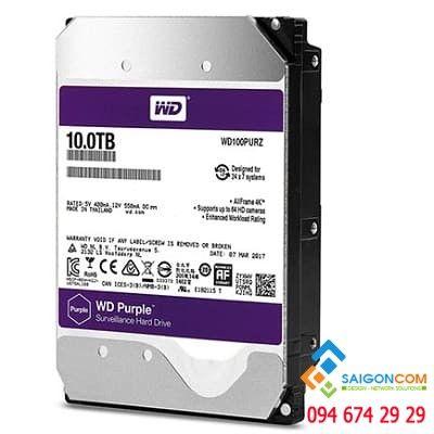 Ổ cứng HDD 10TB WD Purple WD Chính hạng chuyên dụng Camera